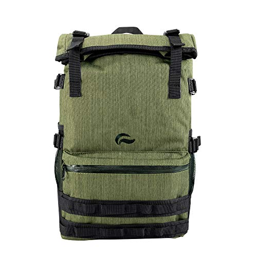 Skunk Backpack Rogue - Smell Proof - Water Proof - Lockable - Hydroponics (Olive Green)