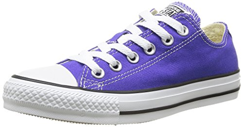 Converse Men's Low-Top Sneakers, Purple Violet, 6