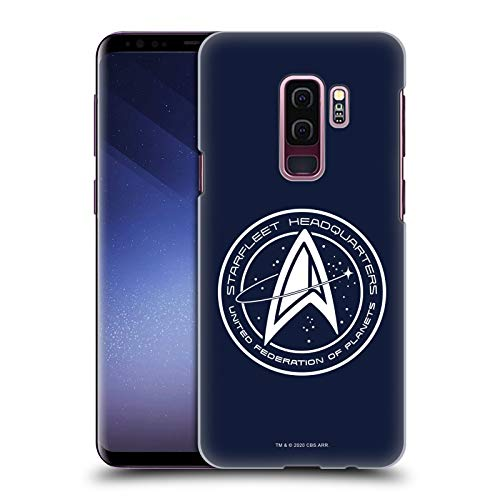 Head Case Designs Officially Licensed Star Trek: Picard Starfleet Headquarters Badges Hard Back Case Compatible with Samsung Galaxy S9+ / S9 Plus