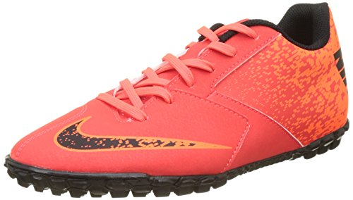 Nike Men's Footbal Shoes, Orange BRT Crimson Black Hyper...