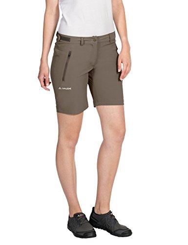 VAUDE Damen Farley Stretch Short Hose, Braun (Coconut), 46/XXL