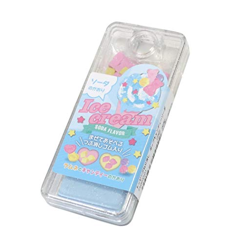 消しゴム[トッピング ねりけし]うまステ/ポップキャンディーソーダ