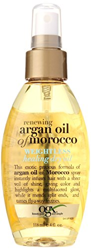 Ogx Moroccan Argan Oil Weightless Dry Oil 4oz by (OGX) Organix