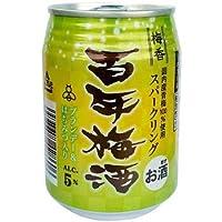 明利酒類 梅香 百年梅酒 缶 250ml/24本 hn お届けまで10日ほどかかります