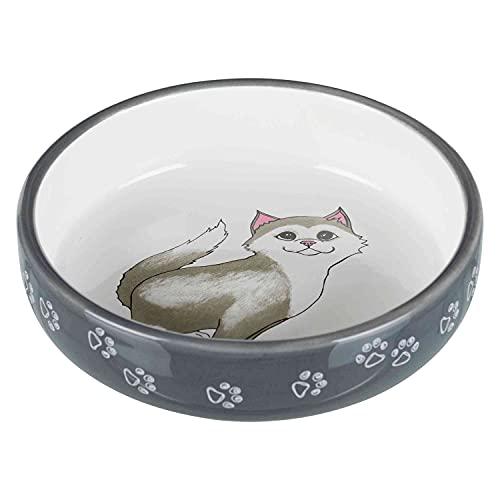 Trixie Ciotola per gatti per razze dal naso corto, ceramica