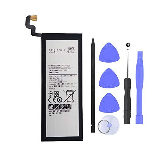 Mukuzi Samsung Galaxy Note 5 N920 互換バッテリー SM-N920 EB-BN920ABE 3.85V 3000mAh