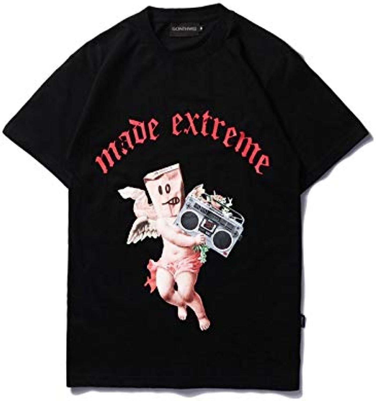 DXYXHLK Sommer-beilufige Oberseiten-T-Stücke der mnnlichen T-Shirts der mnnlichen T-Shirts