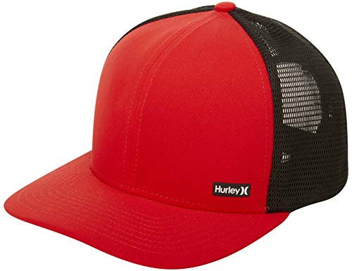 Hurley Men's League Dri-Fit Snapback Baseball Cap, University red, Qty