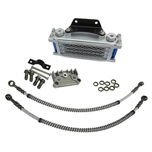 Fried Instalado Radiador de Aceite del Motor de 125cc Kit for Bici de la Motocicleta del radiador Mecanizado