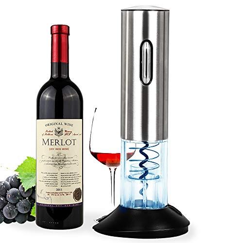 Abrebotellas Eléctrico, Sacacorchos, Abrelatas Automático de Vino, Juego de Abrebotellas sin Cuerda...