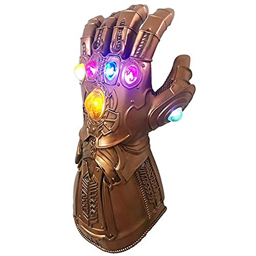 Thanos Infinity Gauntlet Glove for Kids Adults Toy Light Up (kids)