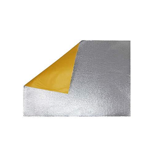 Quattroerre 4R Quattroerre.it 16020 Wärmeisolierende Hitzeschild Folie, 50 x 35 cm