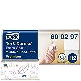Tork Xpress 600297 Toallas de mano Premium / Toallas secamanos compatibles con...
