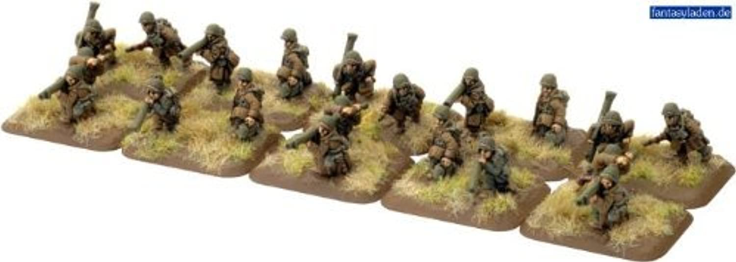 Flames of War  Bazooka Teams (Winter) by Battlefront Miniatures