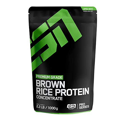 ESN Rice Protein Concentrate, 1000g - ELITE SPORTS NUTRIENTS - Premium Supplements - Made in Germany