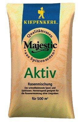 Rasensamen - Rasensamen Majestic Aktiv (10 kg) von Kiepenkerl