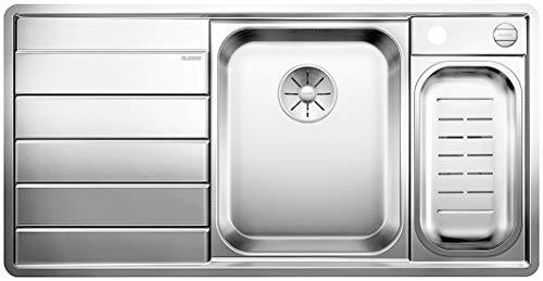 BLANCO 522104 AXIS III 6 S-IF Küchenspüle Edelstahl Seidenglanz