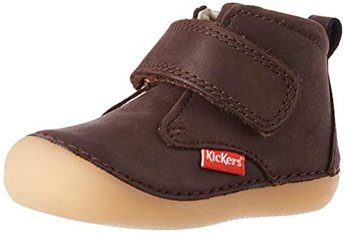 Kickers Sabio, Zapatos Planos Mary Jane Bebé-Niños, marrón Oscuro, 20 EU
