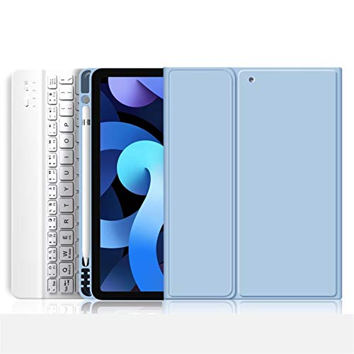 GHC PAD Cases & Covers For iPad for iPad 7th 8th generation, Keyboard Case Light And Thin Case for iPad Air 4 Pro 11 2020 Air 2 Air 1 9.7 2018 Air 3 10.5 10.2