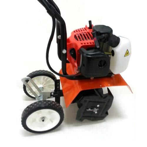 52CC Gartenfräse, Mini-Benzinfräse mit 2-Takt-Motor, Boden für die Sanierung von Rasenflächen, Gemüsefeldern...