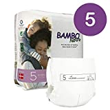 Bambo Nature Eco Friendly Premium Baby Diapers for Sensitive Skin, Size 5 (24-55 lbs), 27 Count
