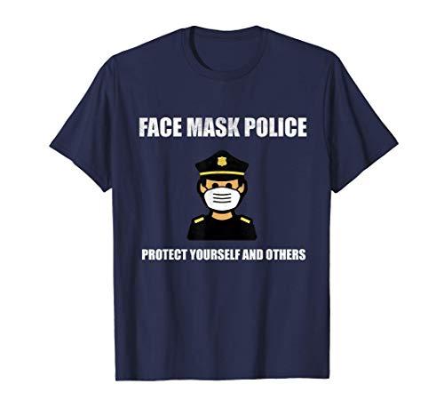 Mascarilla policial: protéjase y proteja a los demás Camiseta