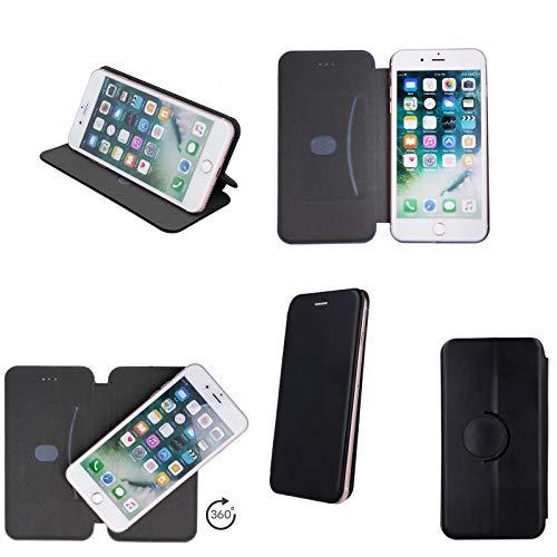 Tasche Handyhülle für Blaupunkt SL02 SL 01 SL 04 SL05 Flip Hülle Klapp Etui Schutzhülle Buchtasche Standfunktion aufstellbar schwarz