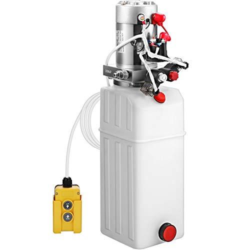 VEVOR Hydraulikaggregat 10L Hydraulikpumpe 2850R Hydraulikpumpe Anhänger 12V Hydraulik Zylinder
