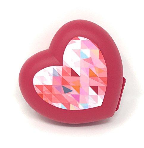 TUPPERWARE Vesperbox hart rood blik Vesperbox box box brooddoos geschenk Valentijn