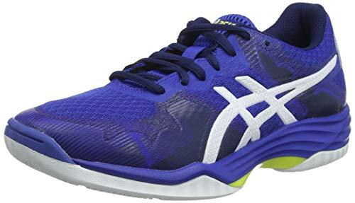 ASICS Damskie buty do siatkówki Gel-Tactic 50,5 EU, niebieski Asics Blue White 400, 40.5 EU