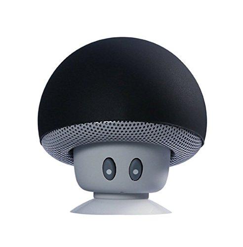 Demarkt Tragbarer Drahtloser Mini Bluetooth Lautsprecher Speaker Mobiler Tragbarer Bluetooth Lautsprecher für iPhone Laptop Handys mit Bluetooth Funktion Pilz Saugnapf Freisprechfunktion
