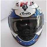 MTCTK Casco De Moto Casco Completo Casco Arai Casco De Moto Integral Ece Azul, Capacete/Unisex, Casco De Moto,M