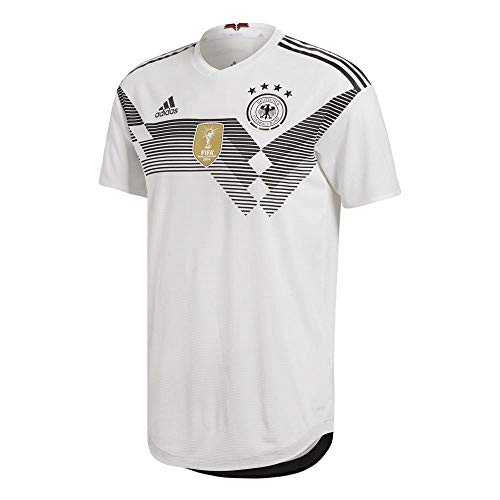 adidas Herren DFB Heim Authentic Trikot, White/Black, S