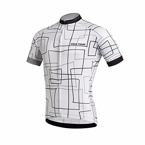 Uglyfrog Wear Cycling Radtrikot Damen Sport Radfahren T-Shirt Radsport Kurzarm Trikot Fahrradbekleidung Fahrradtrikot Bikeshirt