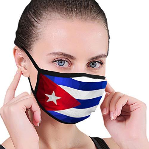 Beliebter Mundschutz für die Küche Jogging Flagge Kuba Fashion Shield