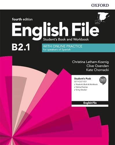 English File 4th Edition B2.1. Student's Book and Workbook without Key Pack (English File Fourth Edition)