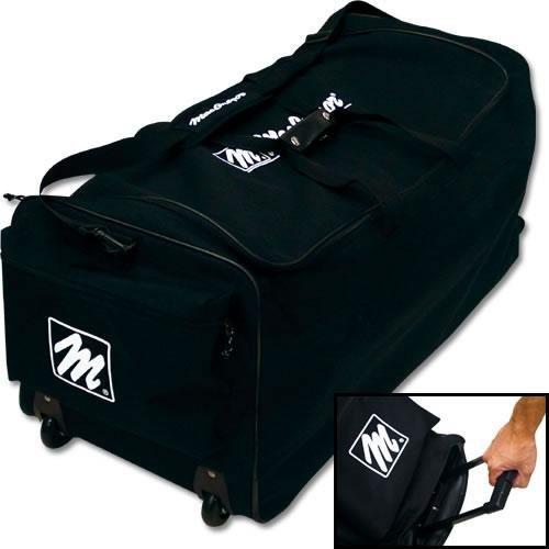 MacGregor Team Roller Equipment Bag, Scarlet