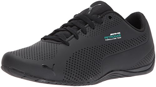 Price comparison product image PUMA Men's Mercedes Drift Cat Ultra Sneaker,  Dark Shadow Black,  5 M US