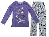 Emoji Mädchen Schlafanzug Pyjama (152)