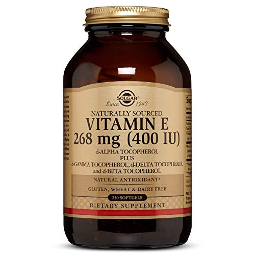 Vitamin E 268 MG (400 IU) Mixed Softgels (d-Alpha Tocopherol & Mixed Tocopherols) - 250 Count