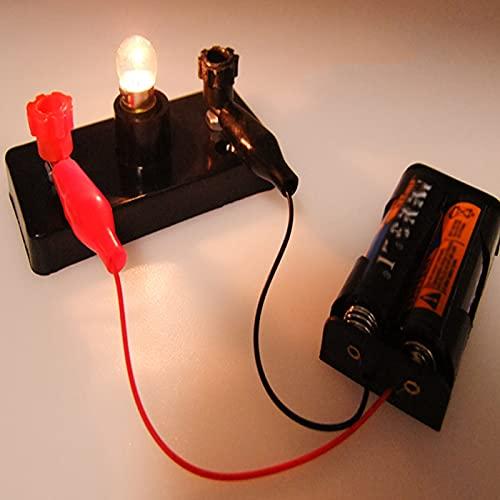 Shhjjyp Electrico Motor Básico De Circuitos Experimento Kit De Circuito Eléctrico Didáctico...