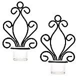 JiaHan - Soporte de Pared para Velas Decorativas para decoración del hogar, Bodas y Eventos