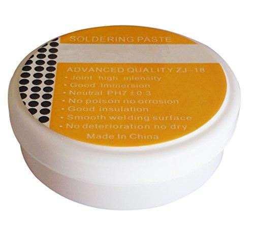 SFTlite – 30 g Flussmittel-Paste Löt - Fett - Gel – Lötflussmittel – Dieses Flussmittel ist zum Löten von Metall - Zinn-Drähte – reinigt und verhindert verlötete Eisenspitzen und PCB-Oxidation
