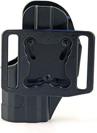 X-Baofu, Juego de pistola táctica de funda oculta for G17 M92 M1911 P226 Funda universal de cintura Funda de extracción rápida Funda de bloqueo Funda de ruger Funda de funda ( Color : USP black )