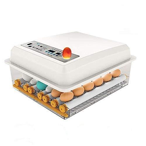 Vollautomatische Brutmaschine 16 Eier Inkubator, Brutapparat Eier Brutkasten, Automatisches Eierdrehen + Eingebauter Eierkerzen, von Truthahngänse-Wachtel Eierbrutmaschine von TZUTOGETHER