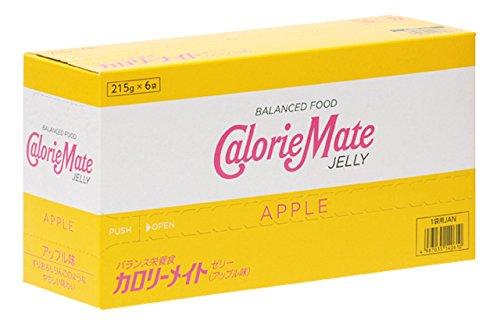 大塚製薬 カロリーメイト ゼリー アップル味 215g×6袋の画像