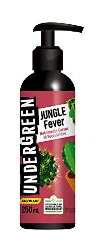 UNDERGREEN Jungle Fever Nutriments Cactus et Succulentes, Neutre, 250 ml