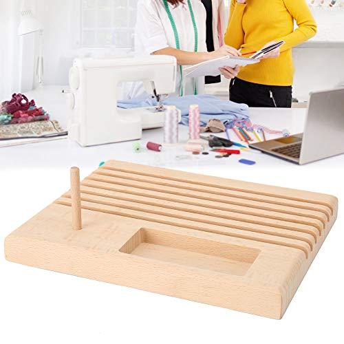 Yosoo Health Gear Soporte para Regla de Costura de Haya, Organizador de Reglas, para Tienda de Regla de Costura, Organizador de Costura para Herramientas de Costura DIY
