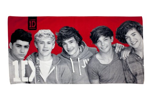 Character World One Direction Heartthrob Handtuch