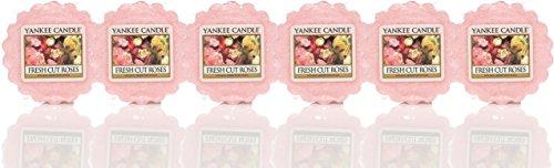 Yankee Candle–Fresh cut roses–Vela en tarro, Wax Melts